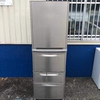 【配送無料】三菱 401L 5ドア冷蔵庫 MR-K406T