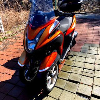 ヤマハ YAMAHA トリシティ 125cc 自賠責令和4年1月...