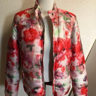 薔薇柄のジャケット