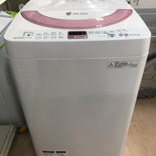 新生活応援!安心の6ヶ月保証付!SHARP 全自動洗濯機 …