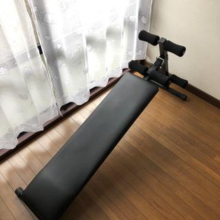 腹筋台、トレーニング
