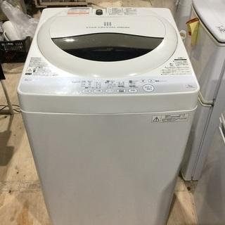 2014年式  TOSHIBA  電気洗濯機  5キロ  (美品です)