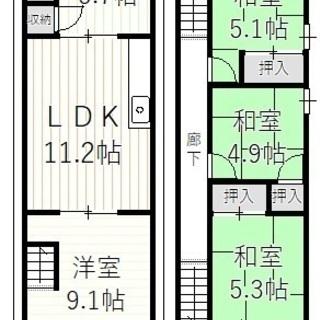 ■山科区厨子奥若林町 ■3沿線利用可能! ■周辺施設充実の5LD...
