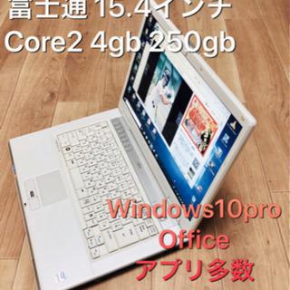 ⬛️富士通BIBLO 15.4インチ/Core2/メモリ4GB/...
