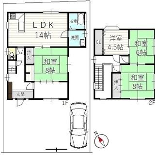 ◆南丹市日吉町胡麻ミロク ◆敷地広々約75坪! ◆スローライフや...