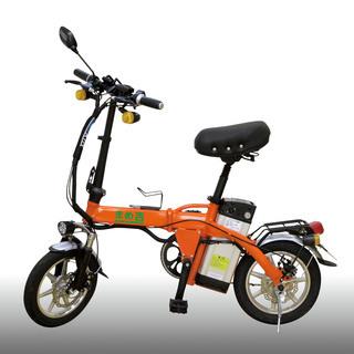 折畳のできる原付バイクです。アクセル走行、アシスト走行、ペダル走...