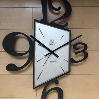 オシャレなデザイン時計(イタリア製クロック)(成立)