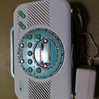 優れもの東芝CDクロックラジオ