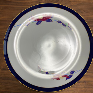 【美品】香蘭社のステキな絵柄の大皿