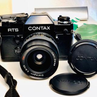 CONTAX RTSⅡ QUARTZ フィルムカメラ セット 値...