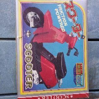 かなり昔のバイクの玩具 日本製品