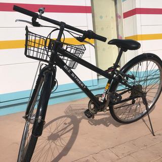 カゴ付きクロスバイク5,000円