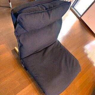 【値下げ】無印良品の一人用リクライニングソファ