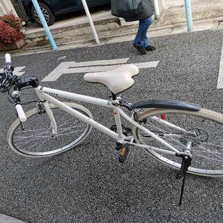 自転車、クロスバイク、変速ギア6段