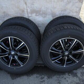 バリ山 215/65R16 適合車種多数 ホイルも美品