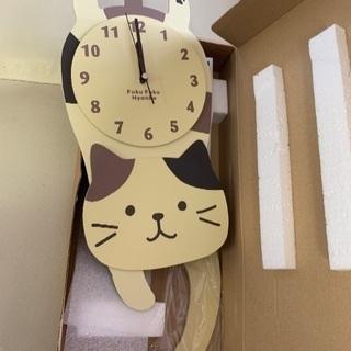 Fukufuku Nyanko 振り子時計
