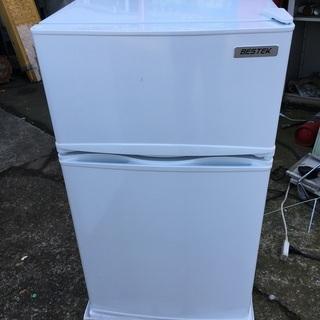 【美品】2ドア冷凍冷蔵庫 ベステック 冷蔵庫 BTMF21 ※2...