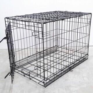 折りたたみ式 ペットゲージ Lサイズ 小型犬〜中型犬まで