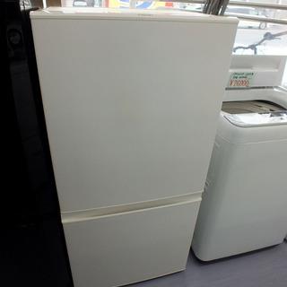2ドア冷凍冷蔵庫 157L 2017年製 AQR-16F AQU...
