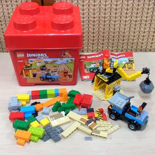 レゴ Juniors EASY TO BUILD ダンプとクレー...