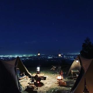 広大なキャンプ場を貸し出します