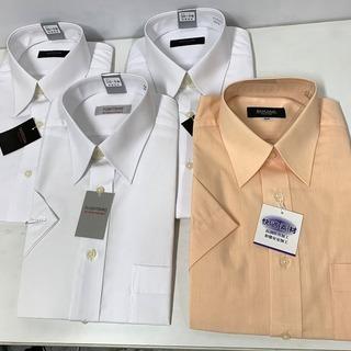 大特価セール!未使用4点セット!半袖シャツ 半袖ワイシャツ 首回...