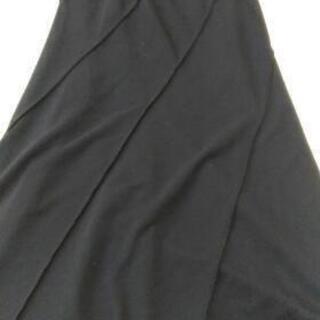 黒のロングスカート64cm