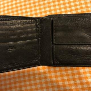 2つ折り革財布