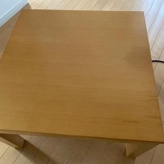 無印良品 テーブル 65cm× 65cm×38.5cm