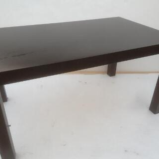 ローテーブル  バラして平らにできます
