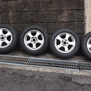 アルミスタドレス タイヤ 205/60R/15 5穴