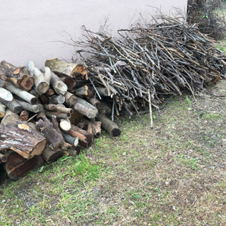 来シーズン用の焚き木としてご利用ください!