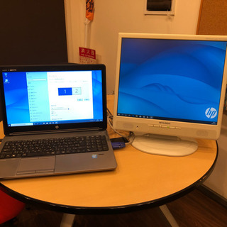Win10ノートパソコン(HP ProBook 650 G1)テ...