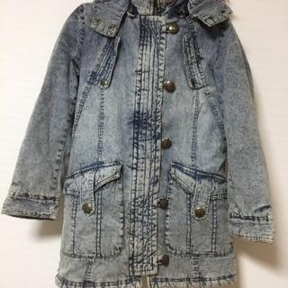 デニムジャケットコート
