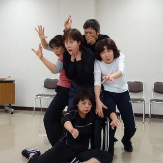 舞台公演に向けた即興劇コース 5月16日スタート!!