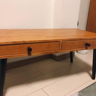 【取引先確定】【美品】木製ローテーブル