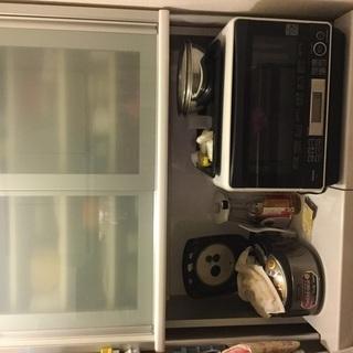 松田家具 食器棚 スチーム対応天板 定価12万円の画像