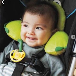 ★ほぼ未使用★赤ちゃん用枕(チャイルドシート、ベビーカー)…