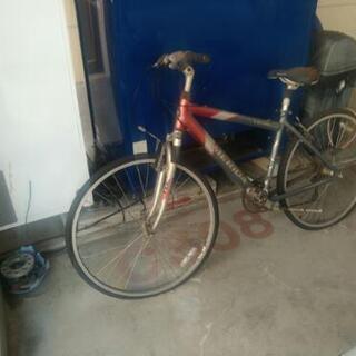 自転車  訳あり クロスバイク