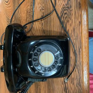 レトロ電話 黒
