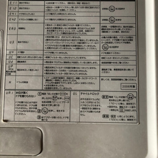 【お取引中】SANYO ドラム式洗濯機 - 家電