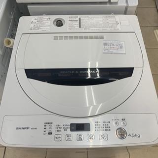 SHARP ES-G4E3 4.5kg 洗濯機 2016年製