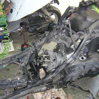 バイク スクーター 原付 修理整備格安です
