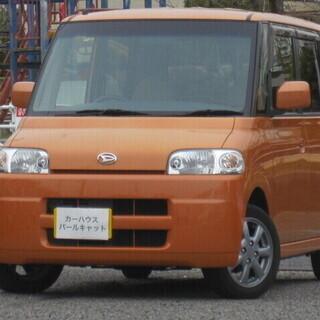ダイハツ タント 660C オレンジ グレードX