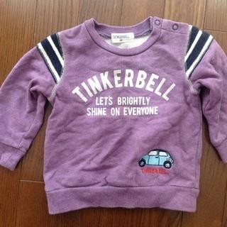 TINKERBELL トレーナー 80cm