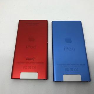 【送料無料】赤売り切れ、青1個4000円です。iPodnano7世代 16GB 2個 - 名古屋市