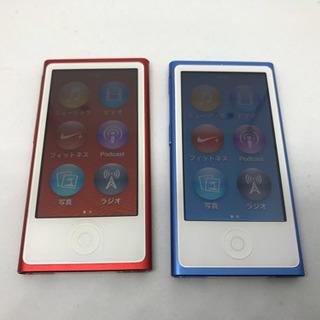 【送料無料】赤売り切れ、青1個4000円です。iPodnano7世代 16GB 2個の画像