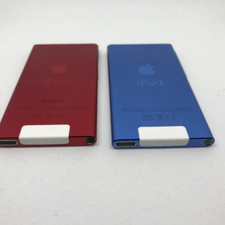 【送料無料】赤売り切れ、青1個4000円です。iPodnano7世代 16GB 2個 - 家電
