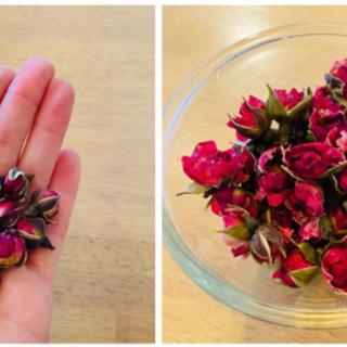 食用バラ(ハーブティー)薔薇茶、製菓用バラ、ローズ