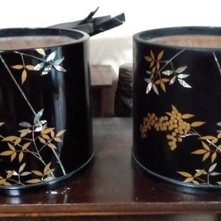 昭和アンティーク お洒落な七宝焼き手火鉢